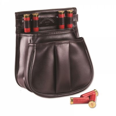 LEATHER SPORTING CLAYS POUCH