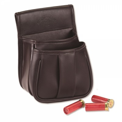 LEATHER TRAP & SKEET POUCH
